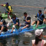 第28回多摩川いかだレース大会 平成30年7月15日(日) 出場! 15位でした!